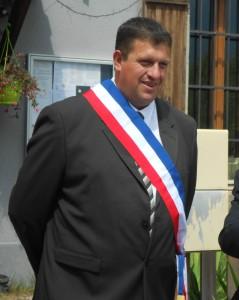 Fabrice Borel dans ses fonctions de Maire du Forest Saint Julien